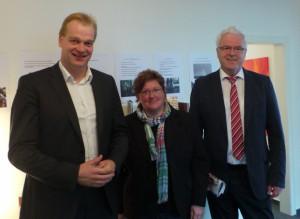 Foto (v. l.): Albert Stegemann, Christine Richter-Brüggen, Dr. Hermann Kues